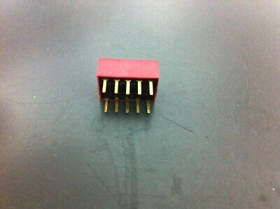 Dip Switch 10pins 5 Position 14mm Gold Pins - 36 Pcs