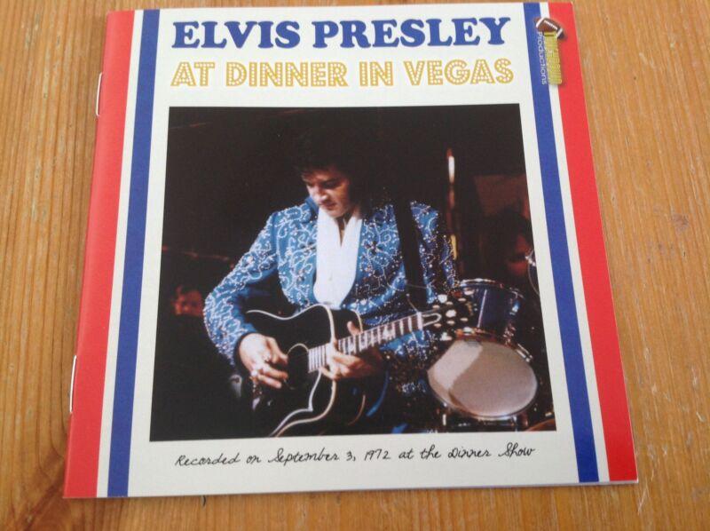 Elvis Presley cd - At dinner in Vegas