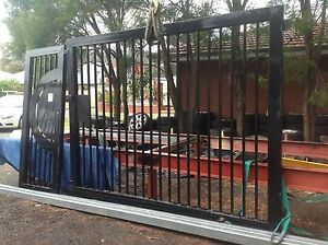 Heavy duty gate with PA gate Kelmscott Armadale Area Preview