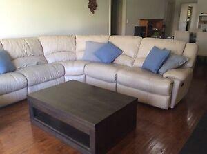 Leather lounge suite Mount Barker Mount Barker Area Preview