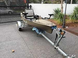 Hobie Pro Angler 14 and trailer Beaumaris Bayside Area Preview