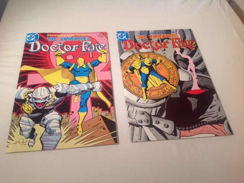 Doctor Fate #1 & 2 (DC 1985) VF/NM, Vintage Comic Books
