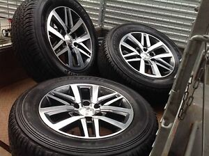 Toyota hilux SR5 Fortuner 4x4 4WD 265 60 18 inch wheels tyres Keilor East Moonee Valley Preview