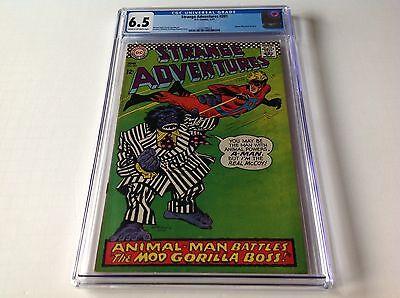 STRANGE ADVENTURES 201 CGC 6.5 ANIMAL MAN COSTUME MOD GORILLA BOSS CVR DC COMICS - Animal Man Costume