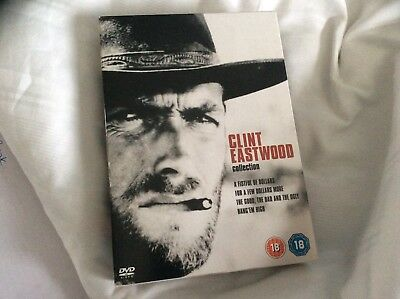 Clint Eastwood Collection - A Fistful Of Dollars/The Good, The Bad And The... for sale  Bristol