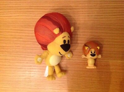 "Raa Raa The Noisy Lion Plush 7"" Teddy and Raa Raa Figure for sale  Shipping to Ireland"