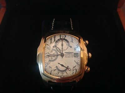 Invicta Dragon Lupah 18k solid gold 7750 model 2271. SUPER RARE!!