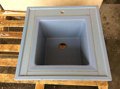 Labormöbel Keramikspüle Spüle Laborspüle von Köttermann 60x60x35cm