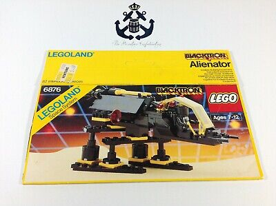 Lego Vintage Blacktron Alienator Box For Set 6876-1 Space