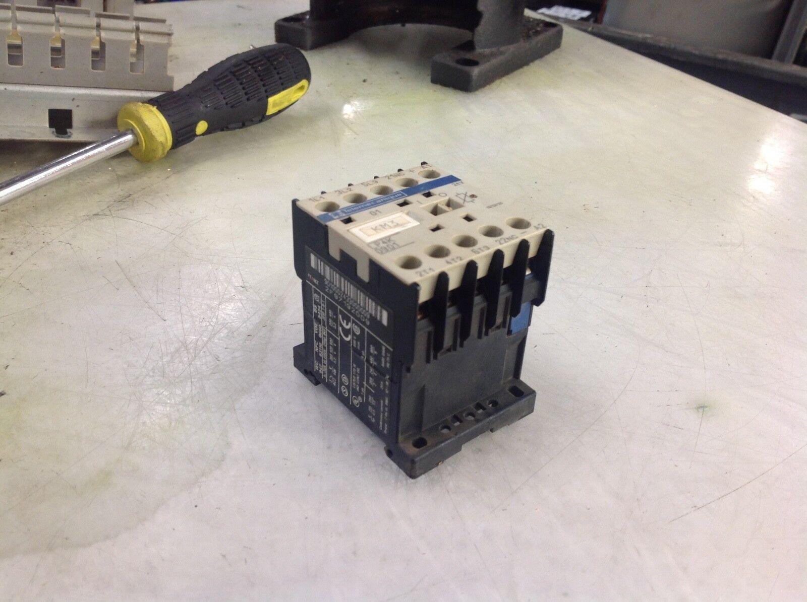 Telemecanique Contactor, LP4K0901 / LP4K 0901, 24V Coil, Used, WARRANTY