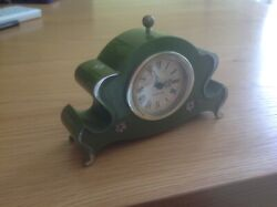 A Genuine Vintage Small Rare WESTCLOX Alarm Clock in Working order.see photo's.