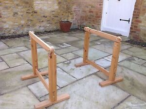 wooden desk / trestle table IKEA