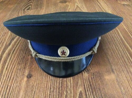 USSR SOVIET UNION CAP HAT INTELLIGENCE KGB  -  ORIGINAL! USED BEST CONDITION