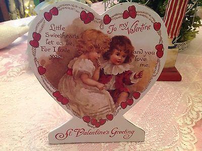 Bethany Lowe Valentine Day Heart Dummy Board