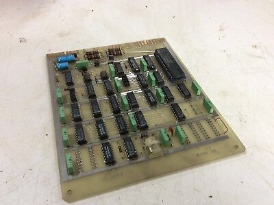 Sharnoa CNC Control PC Board, SE-154X / SE154X, Used, Warranty