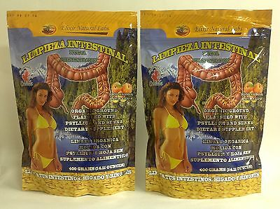 2 LIMPIEZA INTESTINAL CON LINAZA ORGANICA/COLON CLEANSER WITH ORGANIC FLAX SEED