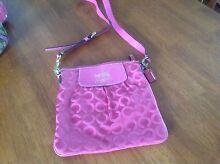 Authentic coach cross body bag Coombabah Gold Coast North Preview