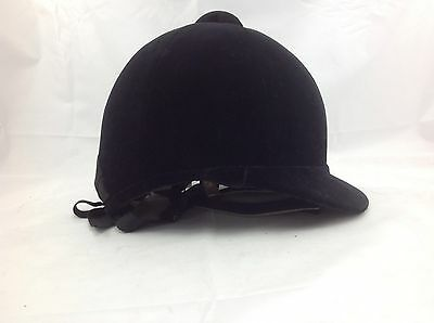 a3f1a05dd68 Hatters English Quorn riding helmet hunt cap black velvet riding hat