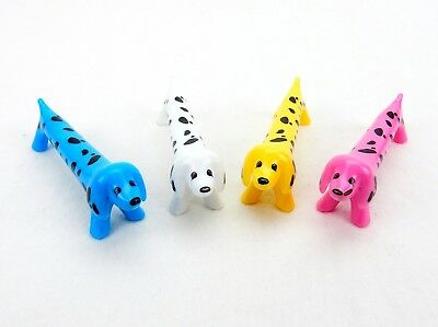 Cute Dog Pens, 4 Pack ~ Colorful Canine Ink Pen Toys For Kids ~ Babalu