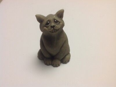 Chico Quarry Critters Second Nature Design 2000 Cat Figurine for sale  Clinton