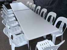 Tables and chairs for hire Kellyville Ridge Blacktown Area Preview