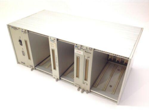 National Instruments SCXI-1001 Chassis w/ (3) SCXI-1181 & SCXI-1100