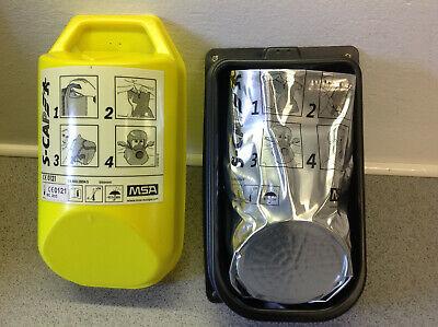 Brandfluchthauben S-CAP von MSA Originalverpackt im Hard Case