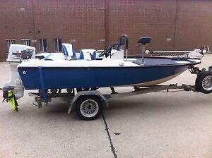 14ft casting deck 70hp 55lb electric Forrest South Canberra Preview