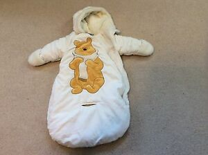 0-6 month snowsuit bunting bag