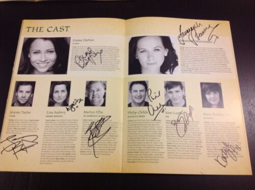 Wicked The Musical London SIGNED Programme 2014/2015 FULL MAIN Cast. Emma Hatton