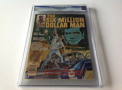 SIX MILLION DOLLAR MAN 1 CGC 9.2 WHITE PGS LEE MAJORS LINDSAY WAGNER CHARLTON