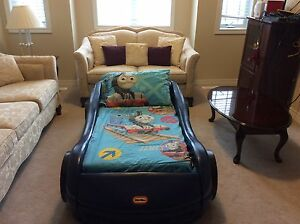 Little Tikes Toddler Car Bed with Mattress
