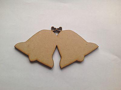 n craft shape, x 10 (Wedding Bells Dekorationen)