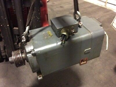 Cincinnati / Siemens Spindle Motor, 1-606-4469, 1 PH6161-4NF00-Z, 6500 RPM, Used