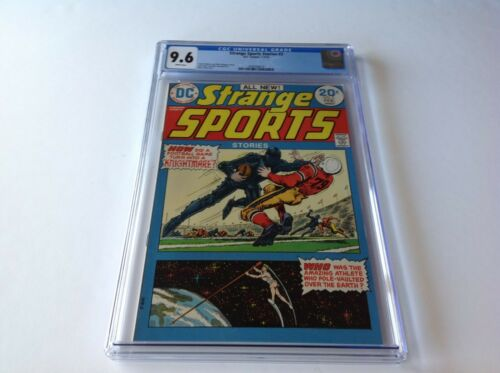STRANGE SPORTS STORIES 3 CGC 9.6 WHITE PS KNIGHT KNIGHTMARE FOOTBALL DC COMICS