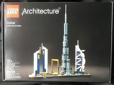 Brand New! Factory Sealed! Perfect! LEGO Architecture Dubai # 21052