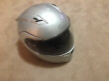 Bell revolver helmet large silver flip face Balwyn North Boroondara Area Preview