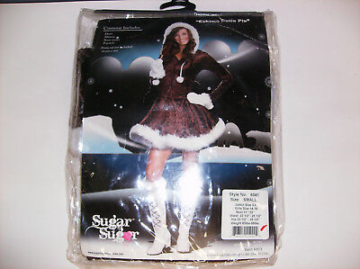 SUGAR SUGAR ESKIMO CUTIE PIE WOMEN HALLOWEEN COSTUME SMALL Womens Cutie Pie