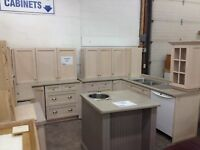 Kitchen #2 with island at Waterloo restore