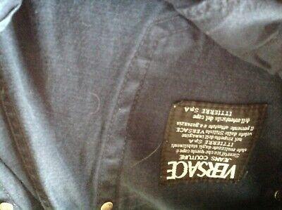 Vintage Versace jeans couture  jeans 34waist inside leg 34 blue