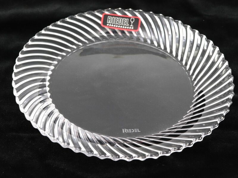 RIEDEL Clear Glass Plates
