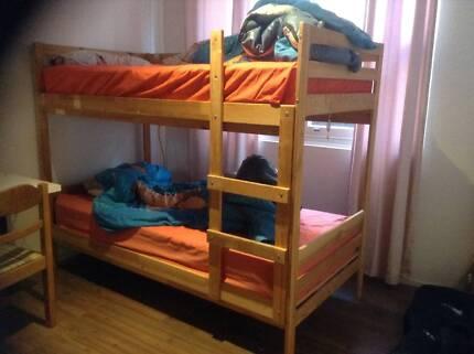 Ikea Double Bunk FREE to good home Allawah Kogarah Area Preview
