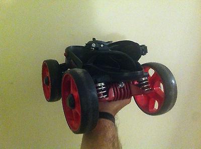 Skorpion Multi Terrain Roller Skates size small red - Skorpion Roller Skates