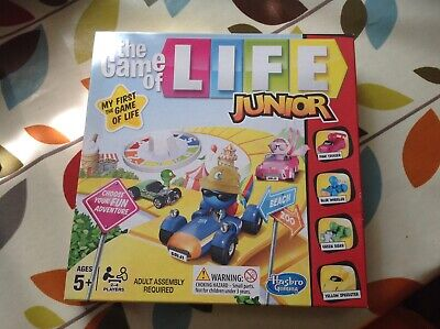 GAME OF LIFE  CHILDRENS 5 YEARS +  BOARD GAME  IN GOOD CLEAN COMPLETE CONDITION for sale  Shipping to Nigeria