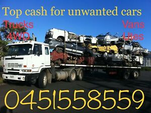 Wanted: Top cash for any unwanted cars any make and models