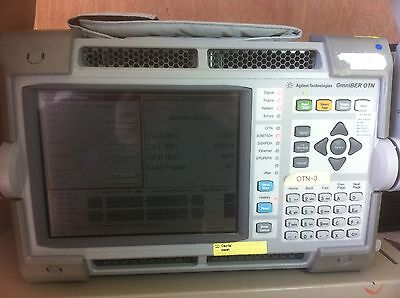 Agilent - J7230a Omniber Otn Communications Analyzer Opts 004101111609