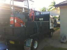 Excavator operator and isuzu truck hire 6 ton pay load Sydney Region Preview