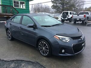 2014 Toyota Corolla SPORT PREM PACKAGE WITH LEATHER, PWR DRIVER