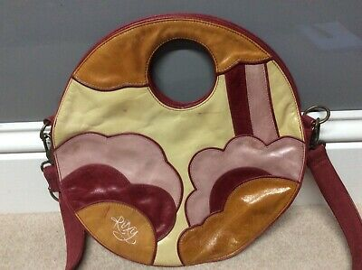 Ladies Vintage Leather Roxy Handbag