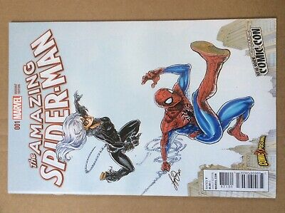 Amazing Spider-Man 1 NM- Black Cat New York Comic Con Variant